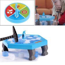 Hot Penguin Trap Ice Breaker Kids Puzzle Desktop Knock Game Block Family Toy