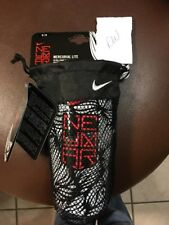 Nike Mercurial Lite Ultra-Light Slip-In Shinguard Medium Retail $25 NIB!