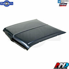 68-72 Chevy II Nova Steel Hood w/ option to drill SS Super Sport Louvers  -  AMD