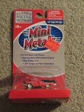 Classic Metal Works Mini Metals 55 1955 Chevrolet Bel Air Convertible Red 1:87HO