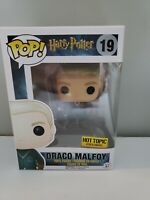 Funko Pop #19 Draco Malfoy Quidditch Harry Potter Vinyl Hot Topic Exclusive