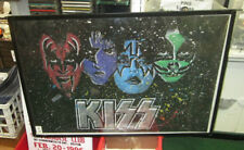 KISS POSTER LIVE NEW NEVER OPENED 2016 LIMITED PRODUCTION