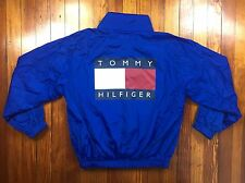VINTAGE RARE TOMMY HILFIGER WINDBREAKER JACKET BIG LOGO URBAN SUPREME LOTUS 90S