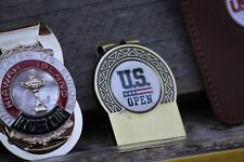 US Open Money Clip - Antique Style Money Clip Free Engraving