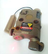 Pistol Illuminator PEQ-15 White LED light &Red laser Battery Case for airsoft