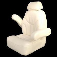 Premier Boat Captains Helm Seat 768888 | 2013 Reclining Mystic White