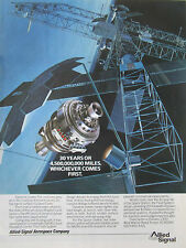 3/1989 PUB ALLIED SIGNAL AEROSPACE DYNAMIC POWER FLUID NASA SPACE STATION AD