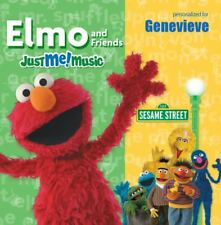 NEW Sesame Street Sing Along With Elmo & Friends Genevieve MUSIC CD PERSONALIZED