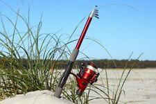 Telescopic Fiberglass Fishing Rod & Reel Combo by Ftusa