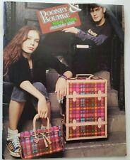 Vintage Dooney and Bourke Purse New York Holiday Catalog 2005