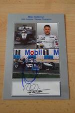 Mika Häkkinen Autogramm signed 10x15 cm Postkarte