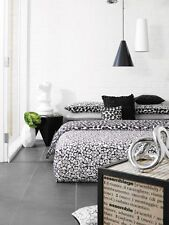 Aura KING Bed Quilt Cover Set with Euros Luxury Cotton Sateen 360TC Carre