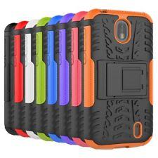 For Nokia 1 2 3 5 6 8 Shockproof Kickstand Rubber Hybrid Hard Armor Case Cover