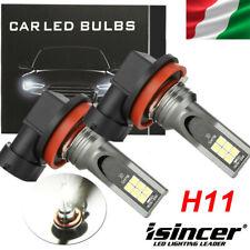 Coppia Lampade 55W 1500LM H11 Led COB Nuova Coppia Lampade Fendinebbia 6000K 12V