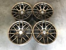"19"" Strom M359 DEEP CONCAVE Wheels Satin Bronze BMW 5x120 E90 E92 E93 M3 Models"