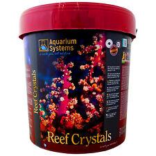 Reef crystals 20KG sel de mer marine coral reef seau fish tank aquarium systems