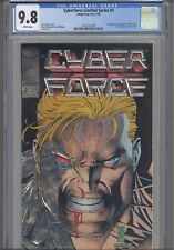 Cyberforce #4 Limited Series CGC 9.8 1993 Image/Top Cow Silver Foil   :NEW Frame