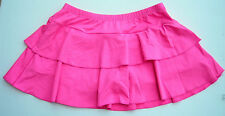 Body Wrappers Flounce 2-Tier Dance Skort Skirt Pre-Owned Hot Pink Small