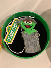 Erswilder Oscar The Grouch Sesame Street Brooch