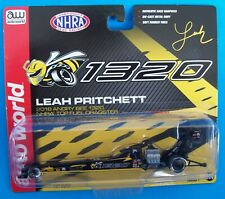 Leah Pritchett 2018 Angry Bee Army 1320 Top Fuel Dragster Rail 1/64 NHRA Diecast