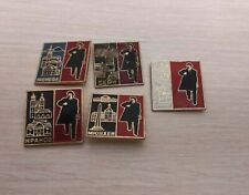 Original Badges comunism Lenin USSR badge Russia political Red October