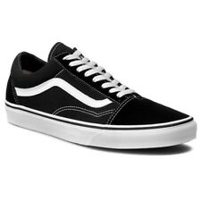 79d8ab365f66 VANS Old Skool Vn000d3hy28 Suede Canvas Black White Men US Sz 6