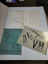 V 50 Miehle Parts Catalog And Instruction Book