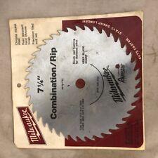 "Milwaukee 7-1/4"" Combination / Rip Circular Saw Blade"