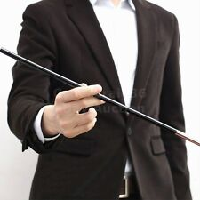 BLACK APPEARING WAND STAGE STREET MAGIC TRICK CANE ONE NEW FOIL STICK SEE VIDEO
