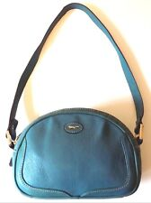 Turquoise Leather Paul Costelloe Bag