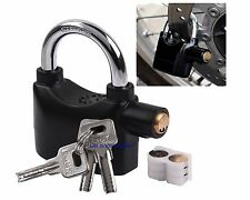 Motorbike Anti Theft Alarm Lock Motion Sensor Security Waterproof Bike Padlock