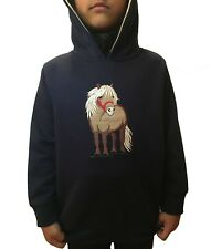 Hazy Blue Kids Horse Design Children's Hooded Fleece Sweatshirt Age 1-12 £13.99