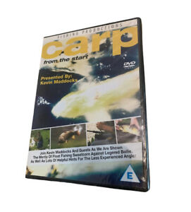 CARP FROM THE START Kevin Maddocks New & Sealed DVD Fishing Productions