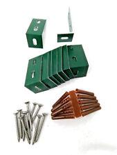 VERDE Elite serre alluminio parentesi angolare Kit Con Viti x10 per fissare la base
