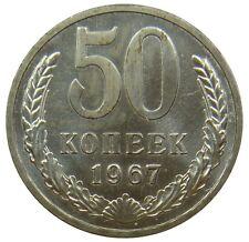(g42) - Russia RUSSIA - 50 KOPEKEN Kopeks 1967 Moneta Da Corso-UNC RAR-Y # 133.a2