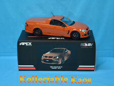 Apex Replicas 1/18 HSV VF Maloo R8 FANTALE Orange Diecast Car