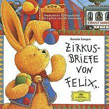 Zirkusbriefe Von Felix von Gruttmann,Iris   CD   Zustand akzeptabel