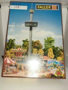 Faller HO B-325 Europa Park Viewing Tower 1/87 New Sealed Rare
