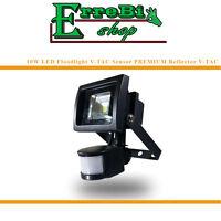 FLOODLIGHT PROYECTOR LED COB 10W 3000K CON SENSOR DE MOVIMIENTO IP65 V-TAC