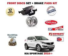 Pour Kia Sportage 1.6 1.7 2.0 CRD 2010- > Neuf avant Disque Frein + Kit