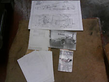 Burlington Motor Company Urba Centurion Kit Voiture Plans et instructions 1985