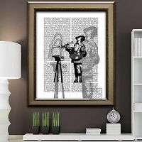 Banksy Artist Contemporary Dictionary Art Print Stylish Original Picture