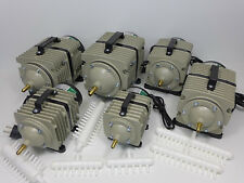 Hailea ACO 328 388D 009 009E 300A 500 Sauerstoffpumpe Teichbelüfter b.16500 L/h
