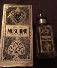 Moschino Pour Homme by Moschino 50 ml/ 1.7 oz After Shave NIB
