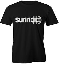 SUNN O)) LOGO TEE - DRONE METAL - BLACK METAL - AMBIENT MUSIC