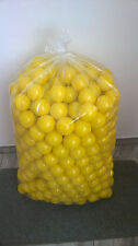 500 BRAND NEW SOFT PLAY BALLS -BALL PIT, POOL , COMMERCIAL GRADE CE - YELLOW