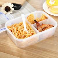 Plastic Bento Box Portable Bento Food Storage Box Microwave Lunch Durable Box