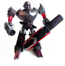 "Transformers Animated Series univers 6"" Megatron Deluxe Class Figure RARE"