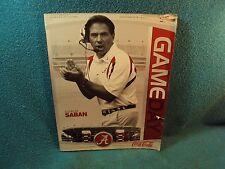 Alabama Tulane Football Game Program with Rashad Johnson Poster Nick Saban Cover