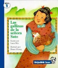 MRS. SATO'S HENS, SPANISH, LAS GALLINAS DE LA SENORA SATO, LET ME READ  SERIES,